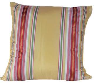 'Avenue' Multi-color Striped Throw Pillow