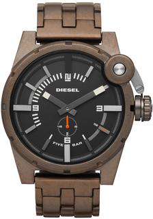 Diesel Men's Brown/ Black Stainless Steel Analog Watch