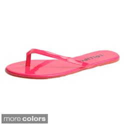 Lollipop Women's 'SURF' Patent Flip-flops