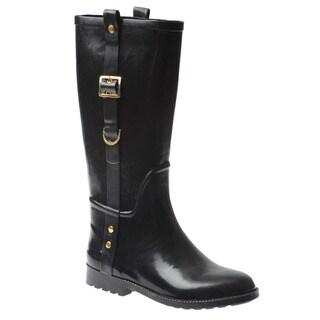 Henry Ferrera Women's Equestrian Mid-calf Rain Boots