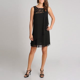S.L. Fashions Women's A-line Novelty Cocktail Dress