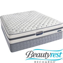 Beautyrest Recharge Issa Plush Twin-size Mattress Set
