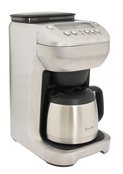 Coffee Maker Built In Grinder Reviews : Breville BDC600XL YouBrew Thermal Coffee Maker with Built-in Grinder - 15409261 - Overstock.com ...