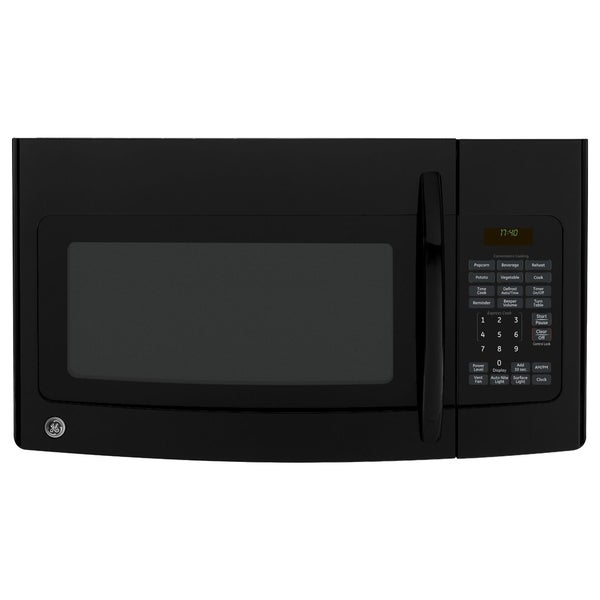 GE Spacemaker Black Over-the-Range Microwave Oven