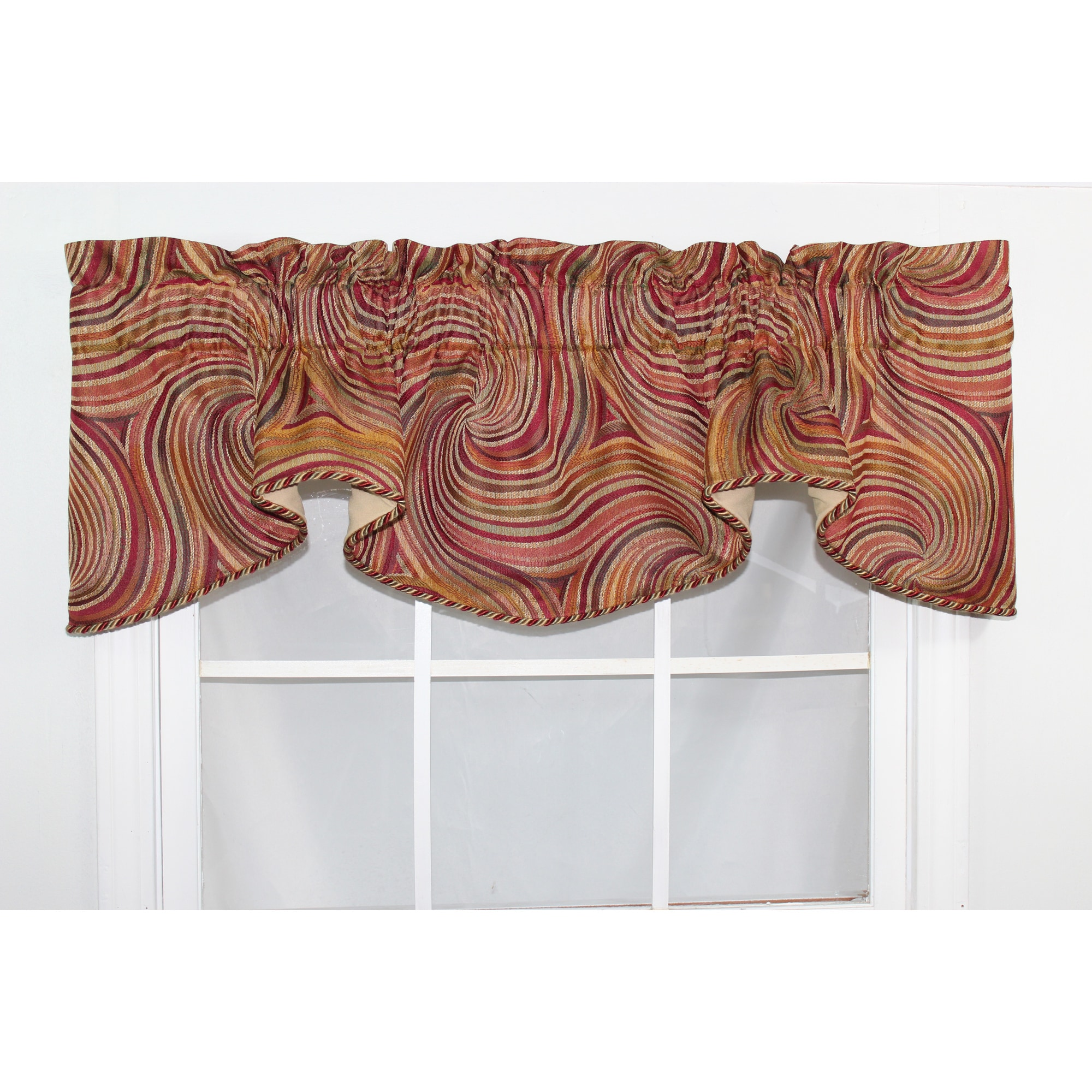 Rlf Home Altesa Contemporary Window Valance at Sears.com