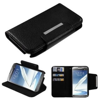 BasAcc Black Book-Style MyJacket/ Card Slot For Samsung� Galaxy Note 2