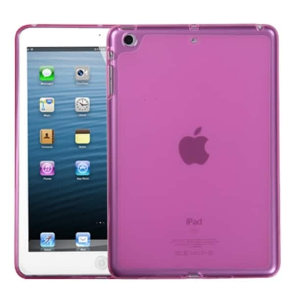 INSTEN Solid Purple Candy Skin Tablet Case Cover for Apple iPad Mini