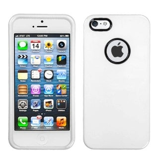 BasAcc Solid Ivory Decorative Rings Case for Apple iPhone 5