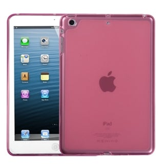 BasAcc Solid Hot Pink Candy Skin Case for Apple iPad Mini