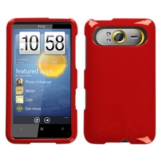 BasAcc Solid Flaming Red Case for HTC HD7/ HD7S