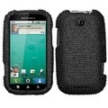BasAcc Black Diamante Case for Motorola MB520 Bravo