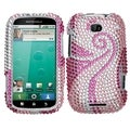 BasAcc Phoenix Tail Diamante Case for Motorola MB520 Bravo