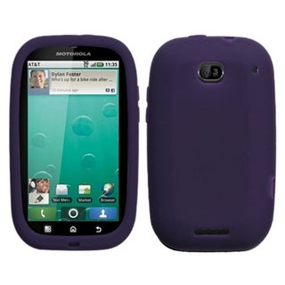 BasAcc Solid Dark Purple Case for Motorola MB520 Bravo
