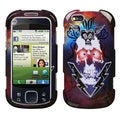 BasAcc Lightning Skull Case for Motorola MB501 Cliq XT
