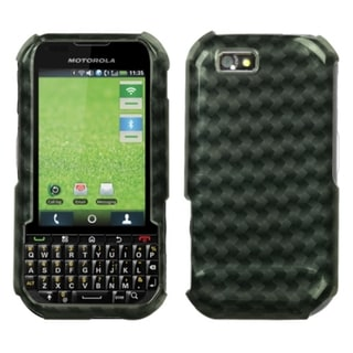 BasAcc Metal Plaid 2D Silver Case for Motorola i1x Titanium