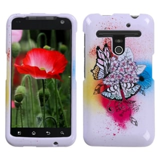 BasAcc Butterfly Paradise Case for LG VS910 Revolution Esteem