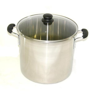 Ballington Stainless Steel Vented Glass Stock Pot