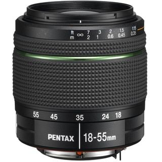 Pentax DA 18-55mm f/3.5-5.6 AL Weather Resistant Zoom Black Lens (New Non Retail Packaging)