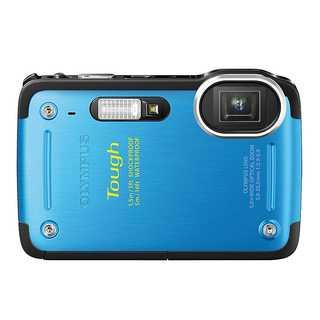 Olympus TG-620 i HS 12MP Blue Waterproof Digital Camera