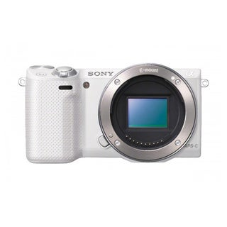 Sony Alpha NEX-F3 Mirrorless 16.1MP White Digital SLR Camera (Body Only)