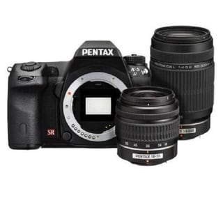 Pentax K-5 II 16.3MP Digital SLR Camera with 18-55mm and 55-300mm Lens Bundle