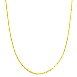 Fremada 14k Yellow Gold Small Link Chain