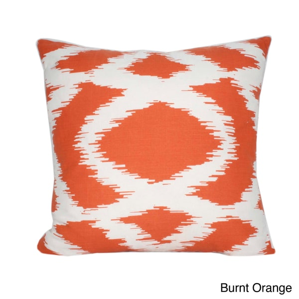 Hollyn Printed 20-inch Decorative Throw Pillow