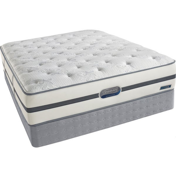 Beautyrest Recharge 'Reynaldo' Cal King Plush Mattress Set