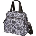 The Bumble Collection Brittany Backpack Diaper Bag in Lace Floral
