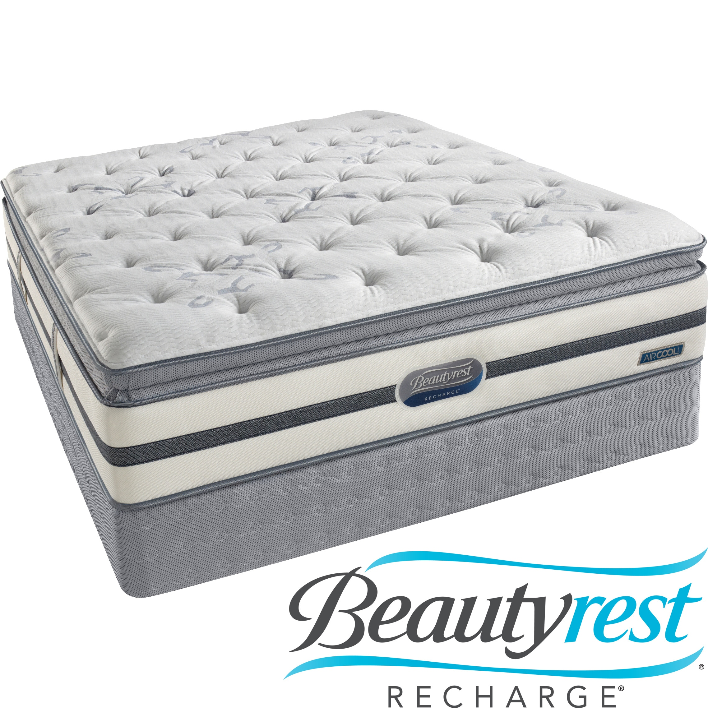 Beautyrest recharge spalding luxury firm queen mattress set bed mattress sale Queen mattress sale