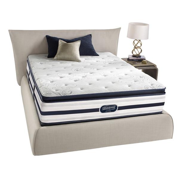 Beautyrest Recharge Lilah Luxury Firm Pillow Top Queen-size Mattress Set