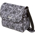 The Bumble Collection Amber Tote Diaper Bag in Lace Floral