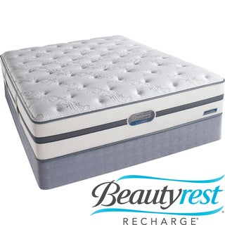 Beautyrest Recharge Lilah Plush King-size Mattress Set