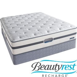 Beautyrest Recharge Lilah Plush Cal King-size Mattress Set