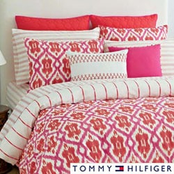 Tommy Hilfiger Preppy Ikat Cotton 3-piece Comforter Set