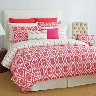 Tommy Hilfiger Preppy Ikat Cotton 3-piece Comforter Set