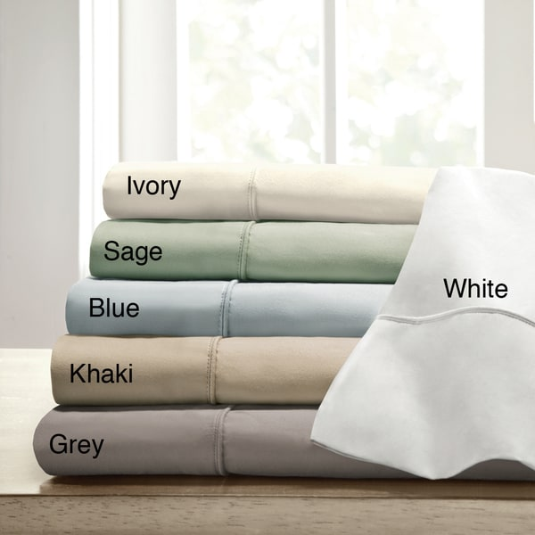Comfort Classics 400TC Cotton Blend Sateen Sheet Set