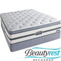 Beautyrest Recharge Lilah Plush Pillow Top Queen-size Mattress Set