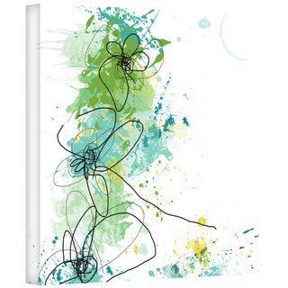 Jan Weiss 'Green Botanica' Gallery-Wrapped Canvas