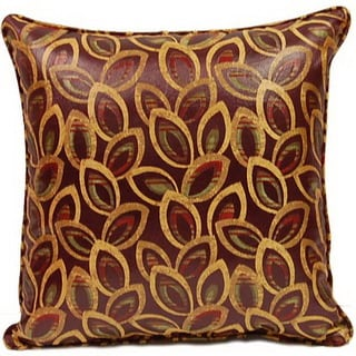 Eyelash Berry 17-inch Throw Pillows (Set of 2)