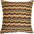 Heartthrob Chocolate 17-inch Throw Pillows (Set of 2)