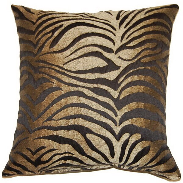 Wild Thang Black 17-inch Throw Pillows (Set of 2)
