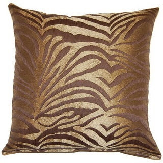 Wild Thang Brown 17-inch Throw Pillows (Set of 2)