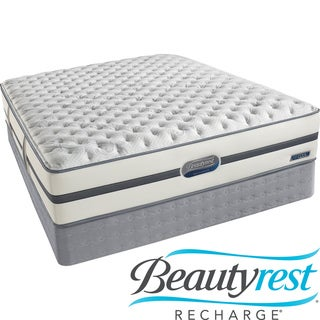 Beautyrest Recharge Reynaldo Extra Firm Cal King-size Mattress Set