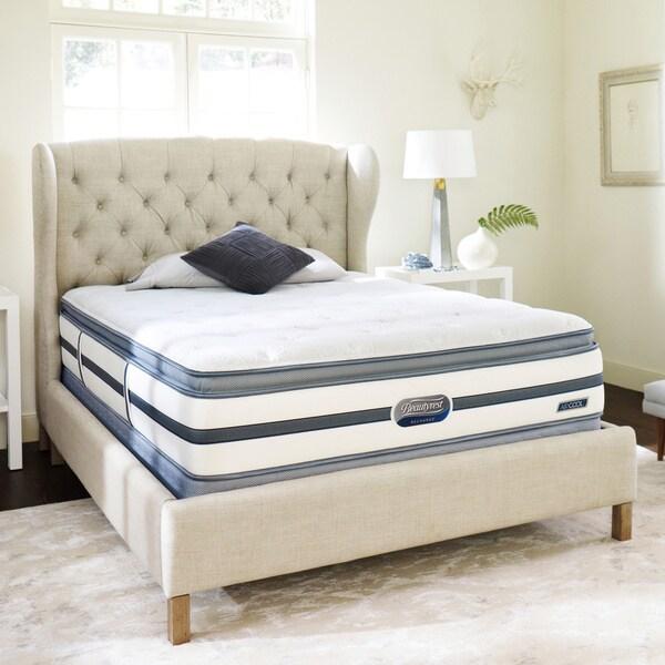 Beautyrest Recharge Reynaldo Plush Pillow Top Queen Size Mattress Set Overstock Shopping