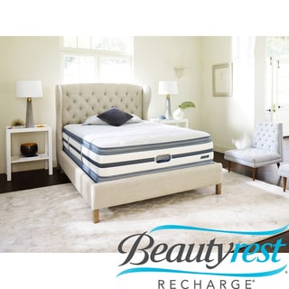 Beautyrest Recharge Reynaldo Plush Pillow Top King-size Mattress Set
