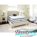Beautyrest Recharge Reynaldo Plush Pillow Top Cal King-size Mattress Set