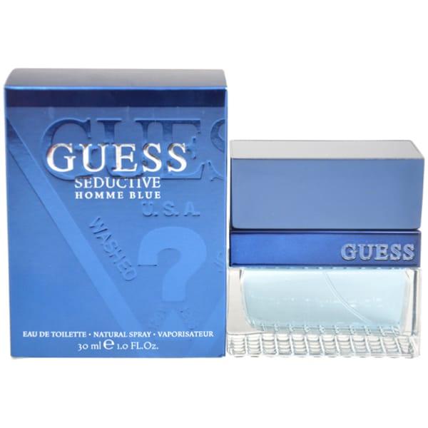 Guess Seductive Homme Blue Men's 1-ounce Eau de Toilette Spray