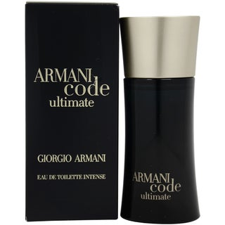 Giorgio Armani Code Ultimate Men's 1.7-ounce Eau de Toilette Spray