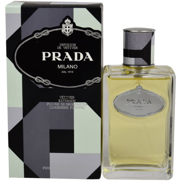 Prada Milano Infusion de Vetiver Men's 3.4-ounce Eau de Toilette Spray